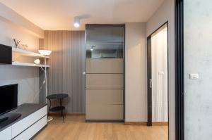 ขายคอนโดอ่อนนุช อุดมสุข : ขายต่ำกว่าทุนคอนโด ห้อง 33 ตรม. 1 ห้องนอน เดิน 2-3 นาทีถึง BTS พระโขนง