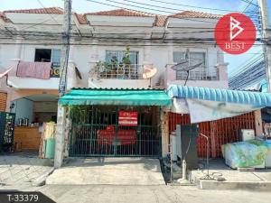 For SaleTownhouseRathburana, Suksawat : Townhouse for sale PK Garden Pracha Uthit 90 Phra Samut Chedi, Samut Prakan