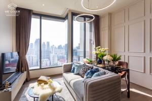 เช่าคอนโดสุขุมวิท อโศก ทองหล่อ : 🔥 NEW ROOM! FOR RENT The ESSE Asoke (1 Bedroom) Nice view, Beautiful decoration, Fully furnished and READY TO RENT!!!! 🔥