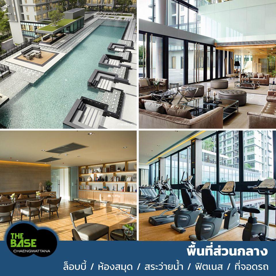 For RentCondoChengwatana, Muangthong : Condo for rent The Base Chaengwattana