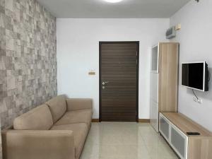 For RentCondoRattanathibet, Sanambinna : R10341 **For Rent** Condo Supalai Park Khaerai-Ngamwongwan, size 46, 19th floor, complete electrical appliances, ready to move in.