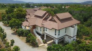 For SaleHouseSuphan Buri : House for sale with mixed agricultural garden, 28 rai, U Thong, Suphan Buri.