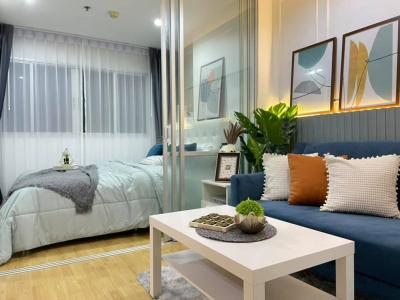 For SaleCondoBangna, Lasalle, Bearing : 🔥 Beautiful room, quick sale, beautiful room, Lumpini, Mecca City, Bangna, Building D