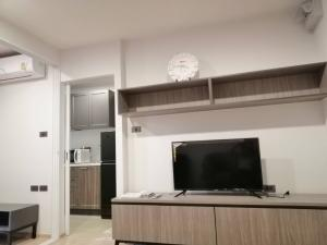 For RentCondoKasetsart, Ratchayothin : Condo Premio Quinto, next to BTS Senanikom, near Kasetsart University, room size 28.5 sqm., 5th floor