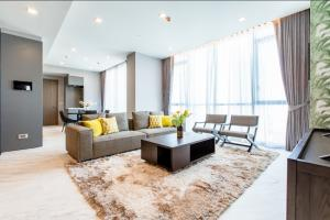 For RentCondoSukhumvit, Asoke, Thonglor : For rent THE MONUMENT Thonglor 2 bedrooms Fully Furnished and Ready to move in high floor