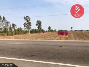 For SaleLandChai Nat : Land for sale 15 rai 2 ngan 95.0 square wa in Wang Man, Chainat.