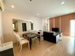 For RentCondoOnnut, Udomsuk : Sky Walk & Waltz Residence, Phra Khanong BTS Station, large room 52 sq.m., rent only 22,000 baht, call 0825425536 Bet