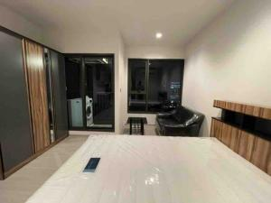 For RentCondoRama9, RCA, Petchaburi : Condo for rent Life Asoke Rama9 Studio room 1 bathroom 25 sq.m. Floor 30 *city view , south*