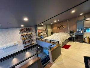 For SaleCondoVipawadee, Don Mueang, Lak Si : Quick sale, Condo KNIGHTSBRIDGE PHAHOLYOTHIN Duplex, 14th floor, luxurious decoration, ready to move in, very good value.