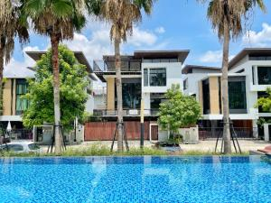 For SaleHouseKaset Nawamin,Ladplakao : LOFT style detached house for sale in Nirvana Beyond Kaset-Nawamin project.
