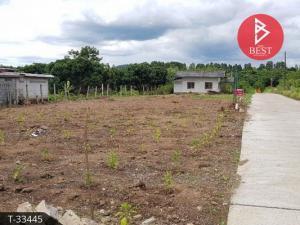 ขายที่ดินจันทบุรี : ขายที่ดินพร้อมบ้าน 1 ไร่ 28.0 ตารางวา ตีนภูเขาสอยดาว จันทบุรี