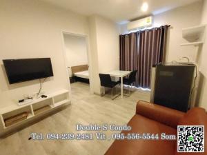For RentCondoRattanathibet, Sanambinna : #Plum Condo Central Station for rent, size 25 sq.m., phase 1, floor 16, 1 bedroom, 1 bathroom, rent 6,000 baht / month