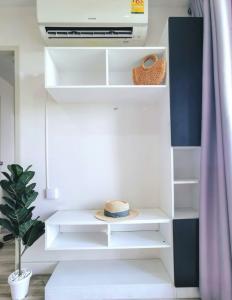 For RentCondoRama5, Ratchapruek, Bangkruai : ‼️For Rent‼ Sammakorn Condo S9 (2 air conditioners)