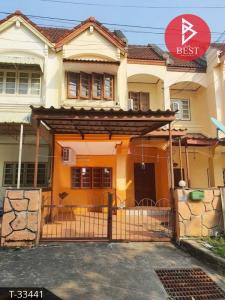 For SaleTownhouseRayong : 2 storey townhouse for sale, Sinthavee Park Village, Ban Chang, Rayong.