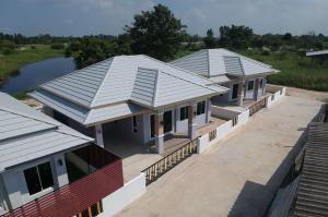 For SaleHousePattaya, Bangsaen, Chonburi : Single House: Baan Phuriya @Phanat Nikhom (Wat Luang)