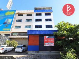 For SaleShophouseSamrong, Samut Prakan : 4 storey commercial building for sale, Bang Phli, Samut Prakan, behind Wat Nam Daeng.