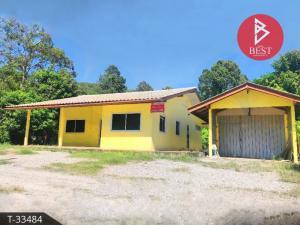 For SaleHouseChanthaburi : house for sale with an area of 1 rai 4.0 square wa, Tha Mai, Chanthaburi