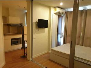 For RentCondoChengwatana, Muangthong : W0167# Condo Lumpini Ville Chaengwattana-Pak Kret, new condition room, size 23 square meters