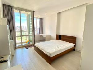 เช่าคอนโดพระราม 9 เพชรบุรีตัดใหม่ : คอนโดให้เช่า Tc Green Rama9  BA21_07_109_05 ห้องโล่ง สบายตา เครื่องใช้ไฟฟ้า ราคา 9,999 บาท