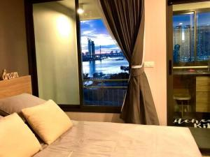 For RentCondoRama3 (Riverside),Satupadit : U delight residence riverfront ⚡️ Luxury condo along the Chao Phraya River ⚡️ The price is great, the atmosphere is great. Carry your bag. Hurry up to reserve 💥