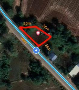 ขายที่ดินปราจีนบุรี : ขายที่ดินเปล่า97ตรว.หน้ากว้างติดถนน48เมตร