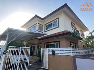 ขายบ้านเอกชัย บางบอน : บ้านเดี่ยวมือสอง หมู่บ้านอรุณทอง บางบอน3 หลังมุมเป็นส่วนตัว