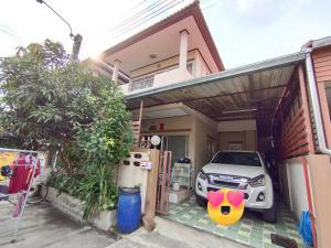 For SaleHouseBang kae, Phetkasem : Semi-detached house, 30 sq. wa, affordable price, Bang Khae, renovated and ready to move in Kanchanaphisek-Phetkasem 63 (Wat Muang)