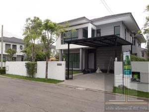 For RentHouseRama5, Ratchapruek, Bangkruai : Hot!! 2 storey detached house for rent in Ratchapruek area. Habitat Ratchapruek Village D' HABITAT Ratchapruek Ratchapruek Road, Bang Krang Subdistrict, Mueang District, Nonthaburi Province