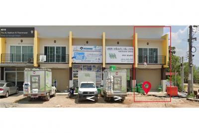 For SaleTownhouseNakhon Si Thammarat : ขายทาวเฮ้าส์ทำเลดีติดถ.กระโรม-จันดี4015ใกล้คีรีวง