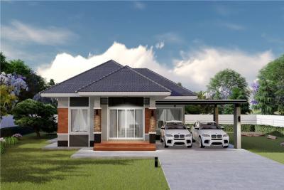 ขายบ้านเชียงราย : #ขายที่ดินพร้อมสร้างบ้านสวยเวียงชัยเมืองเชียงราย - 920141017-17