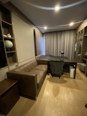 เช่าคอนโดสยาม จุฬา สามย่าน : Ashton Chula Silom Studio 26 ตรม ราคาเช่าเพียง 18,000 เฟอร์นิเจอร์ดีมากก
