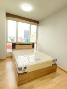 For SaleCondoRatchadapisek, Huaikwang, Suttisan : Cheap price, Grip Condo Pano Ville Ratchada 19, size 33 sq.m., 1 bedroom, 7th floor, near MRT Ratchadaphisek