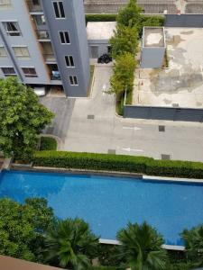 For RentCondoBangbuathong, Sainoi : *Super special * Pool view * For rent, Plum Condo Bangyai, 2 bedrooms, fully furnished, ready to move in.