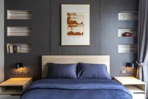 เช่าคอนโดสุขุมวิท อโศก ทองหล่อ : Condo for rent at Ceil By Sansiri in Ekkamai 2 beds 64 sqm on 10 floor nice view rental 35K