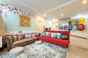 For RentCondoRatchadapisek, Huaikwang, Suttisan : Special Price++ For rent Supalai Wellington 1, 3 bedrooms, nice view and beautiful room