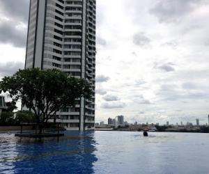 For RentCondoWongwianyai, Charoennakor : เช่าด่วน.. ศุภาลัย ริเวอร์ รีสอร์ต ใกล้แม่น้ำเจ้าพระยา Urgent rent ! Supalai River Resort, BTS. Talad plu, close to Chao Phraya River and Icon Siam
