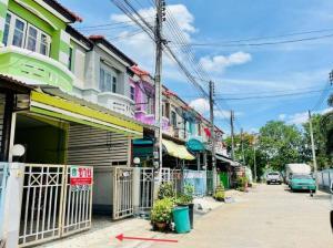 For SaleTownhouseAyutthaya : 2 storey townhouse for sale, Phong Thong Village. In front of Ban Wa High-Tech Industrial Estate, Ayutthaya