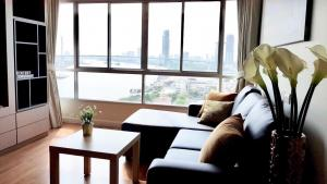 For RentCondoRama3 (Riverside),Satupadit : For rent Lpn riverside Rama 3, Chao Phraya River view.