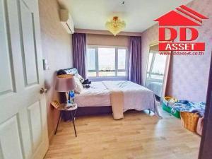 For RentCondoRattanathibet, Sanambinna : Sale & For rent Sale and rent Condo Major Sanambinnam, riverside condo, Nonthaburi, purple and pink lines.