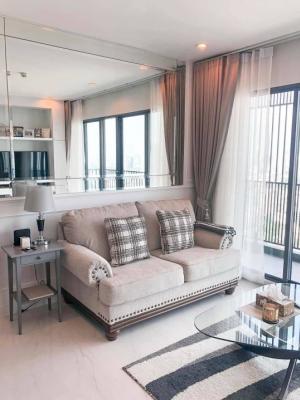 For RentCondoSukhumvit, Asoke, Thonglor : Agent Post for rent: Condo C Ekkamai, 3 bedrooms, 3 bathrooms, 39th floor, room size 100 sqm., 2 balconies / 2 parking spaces, price 60,000/month