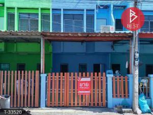 For SaleTownhousePha Nakorn, Yaowarat : 2 storey townhouse for sale, Jesada 6 Village, Wang Noi, Phra Nakhon Si Ayutthaya.