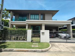 For SaleHouseNakhon Pathom, Phutthamonthon, Salaya : Single detached house for sale, Setthasiri Pinklao-Kanchana, wide house, beautiful decoration.