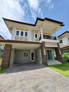 For SaleHouseBangbuathong, Sainoi : House for sale Ladda Ville 4, Baan Kluay Sai Noi, cheap price, new condition.