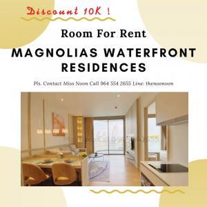 เช่าคอนโดวงเวียนใหญ่ เจริญนคร : ✨ Booking Today Discount 10,000 THB. Room For Rent Covid Price ‼️ ✨ Pls. Contact Miss Noon 0645542655