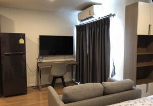 For RentCondoKasetsart, Ratchayothin : C287 Condo for rent, Lumpini The Selected Kaset-Ngamwongwan, opposite Kasetsart University (12th floor, size 26 sq.m.)