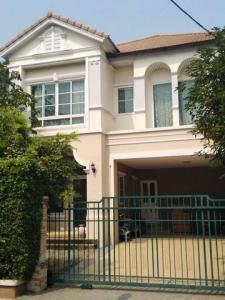 For RentHouseNakhon Pathom, Phutthamonthon, Salaya : RH584 2 storey detached house for rent, 4 bedrooms, 4 bathrooms, Image Place Village, Phutthamonthon Sai 4