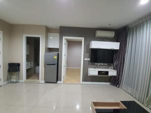 For RentCondoRama9, Petchburi, RCA : Condo for rent Tc Green Rama9 BA21_07_110_05, beautiful room, divided into proportions, wide room, complete electrical appliances, price 9,999 baht