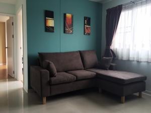 For SaleCondoOnnut, Udomsuk : Urgent sale, Lumpini Center Condo Sukhumvit 77, 2 bedrooms, 55 sq.m., new condition room, ready to move in.