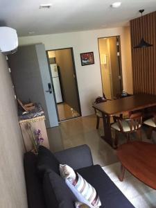 For RentCondoSukhumvit, Asoke, Thonglor : Ready move in near BTS Asoke! Condo for rent Mirage Sukhumvit 27 Type 2 bedroom 2 bathroom 55 sq.m. Floor 5
