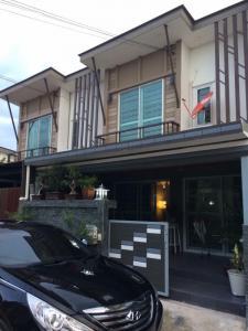 For RentTownhousePattanakan, Srinakarin : Townhome for rent, 18,000 baht per month, Baan Pruksa Prime Srinakarin-Bangna project.